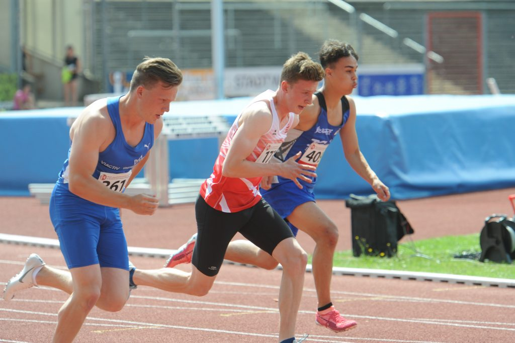 Platz 7 in Westfalen für Sprinter Lucas Wildt